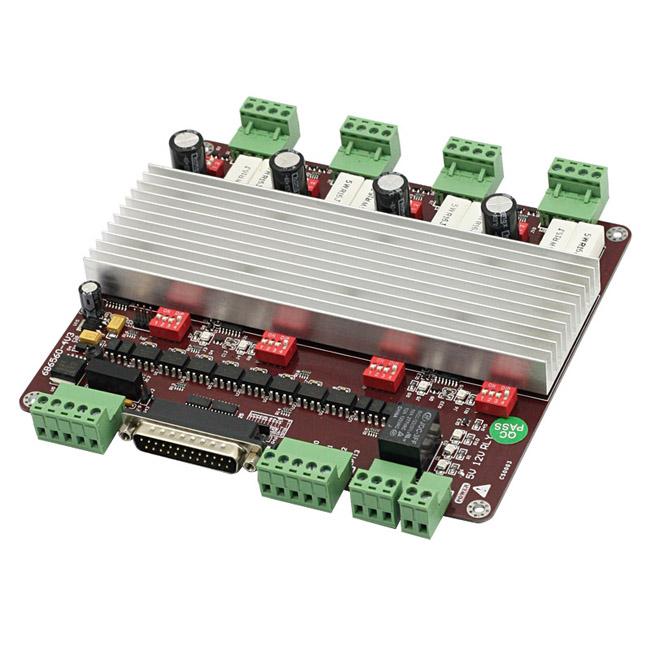 Cnc 4 Axis Tb6560 Stepper Motor Driver Board Controller Ebay