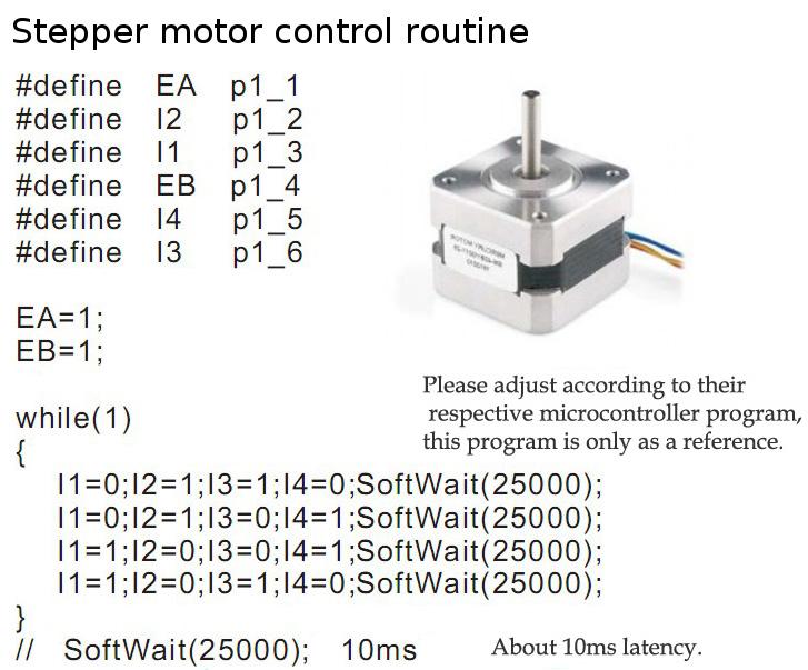 L298N Arduino stepper motor routine